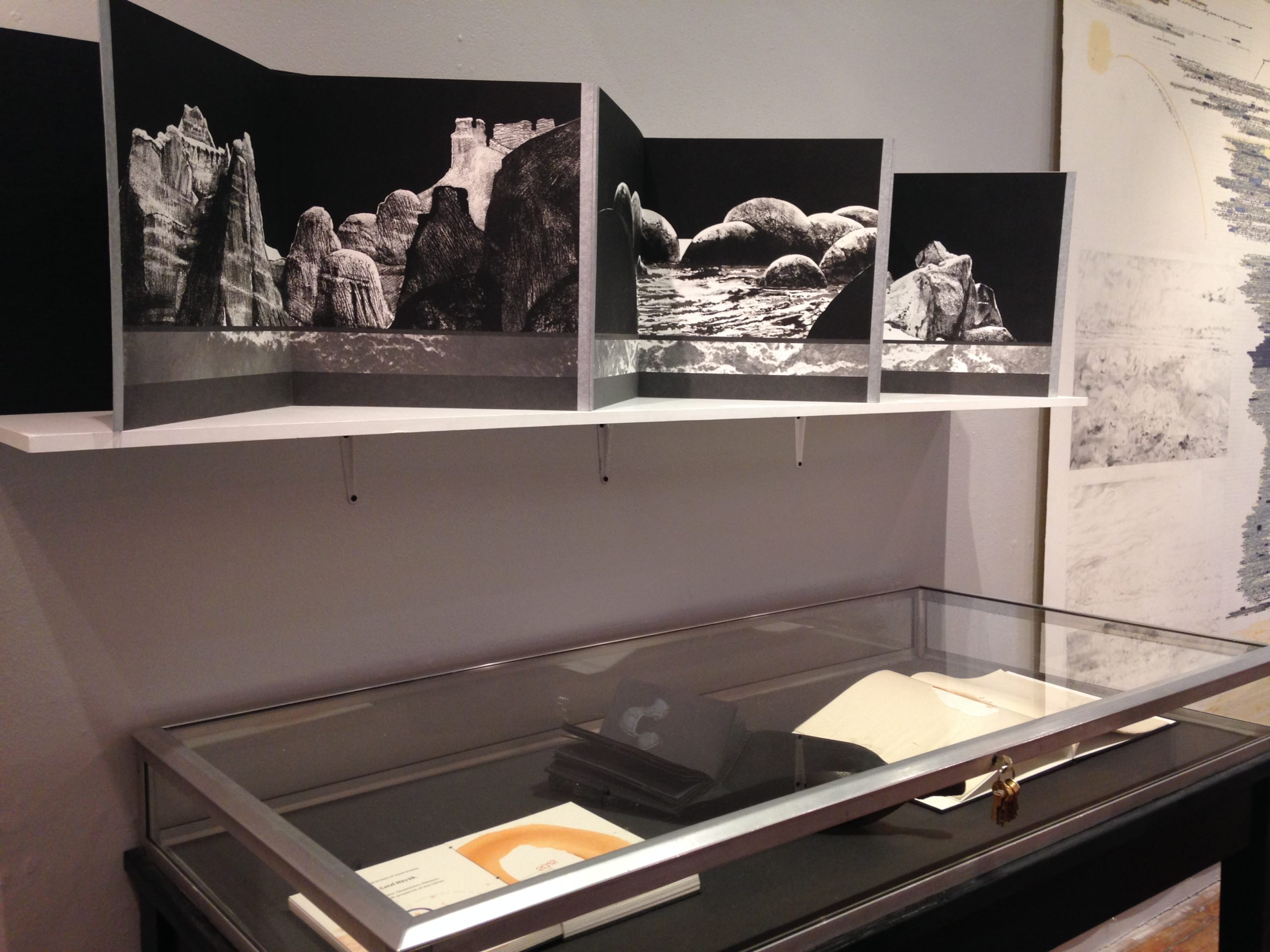 Installation View of Redux curated by Maddy Rosenberg