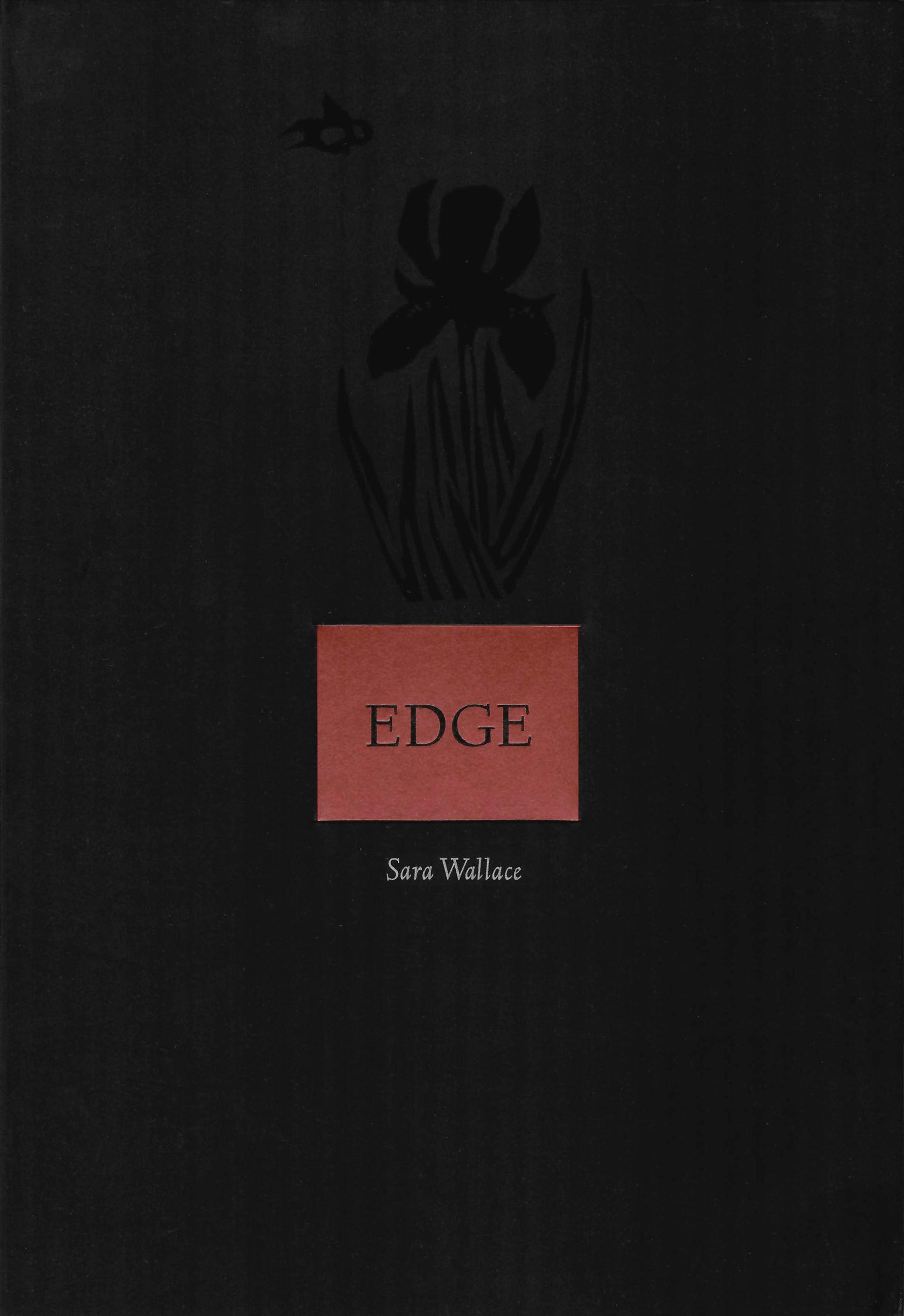 black book cover with black iris