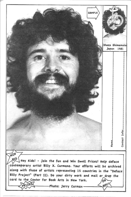 billy curmano with beard
