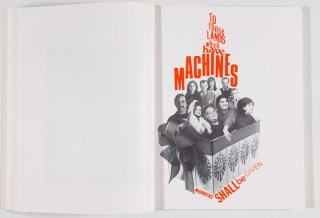 spread with women and the word machines