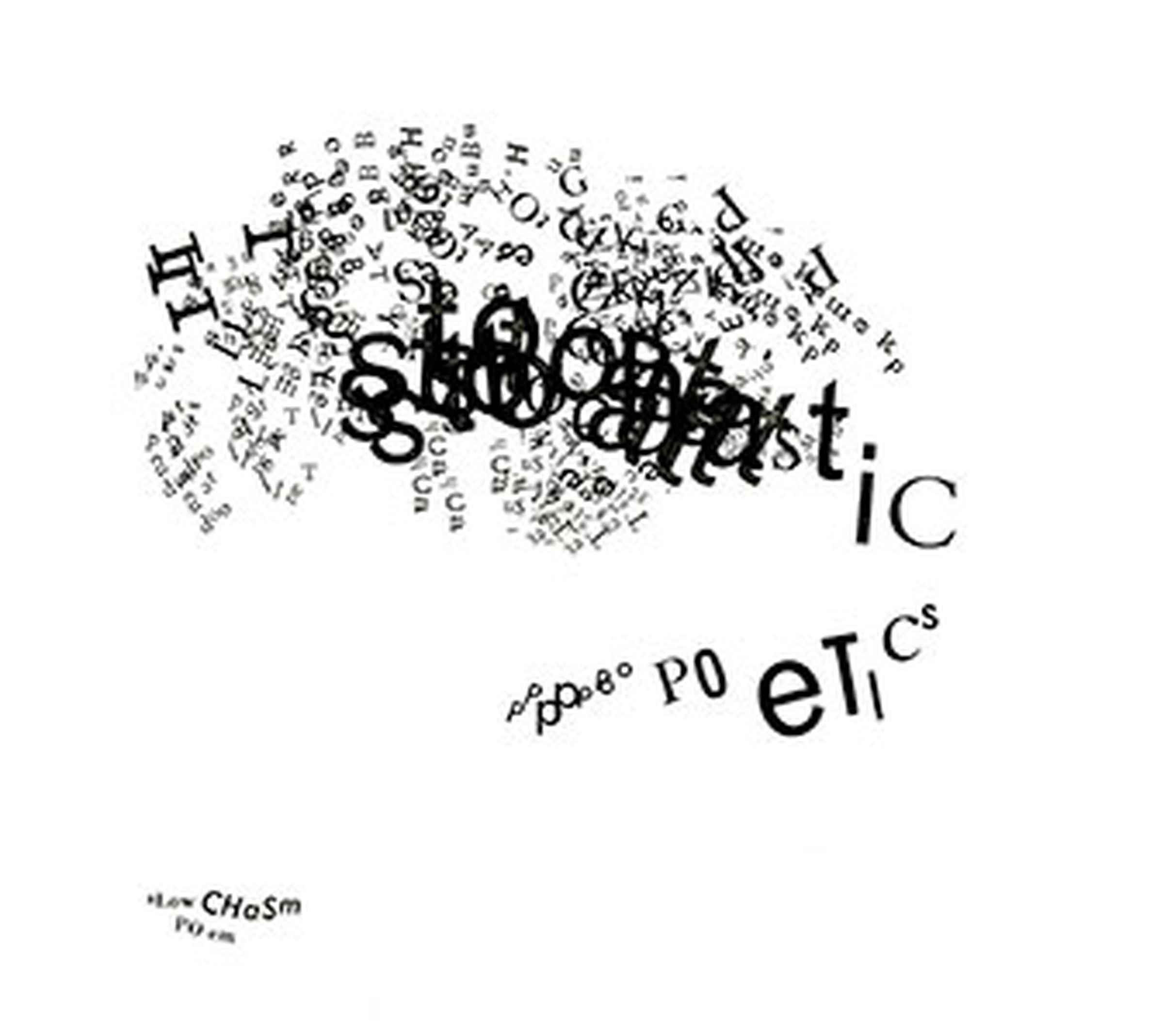 Stochastic Poetics by Johanna Drucker.