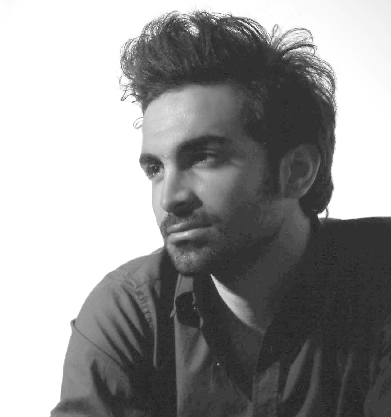 Black & White Headshot of Bahman Mohammadi