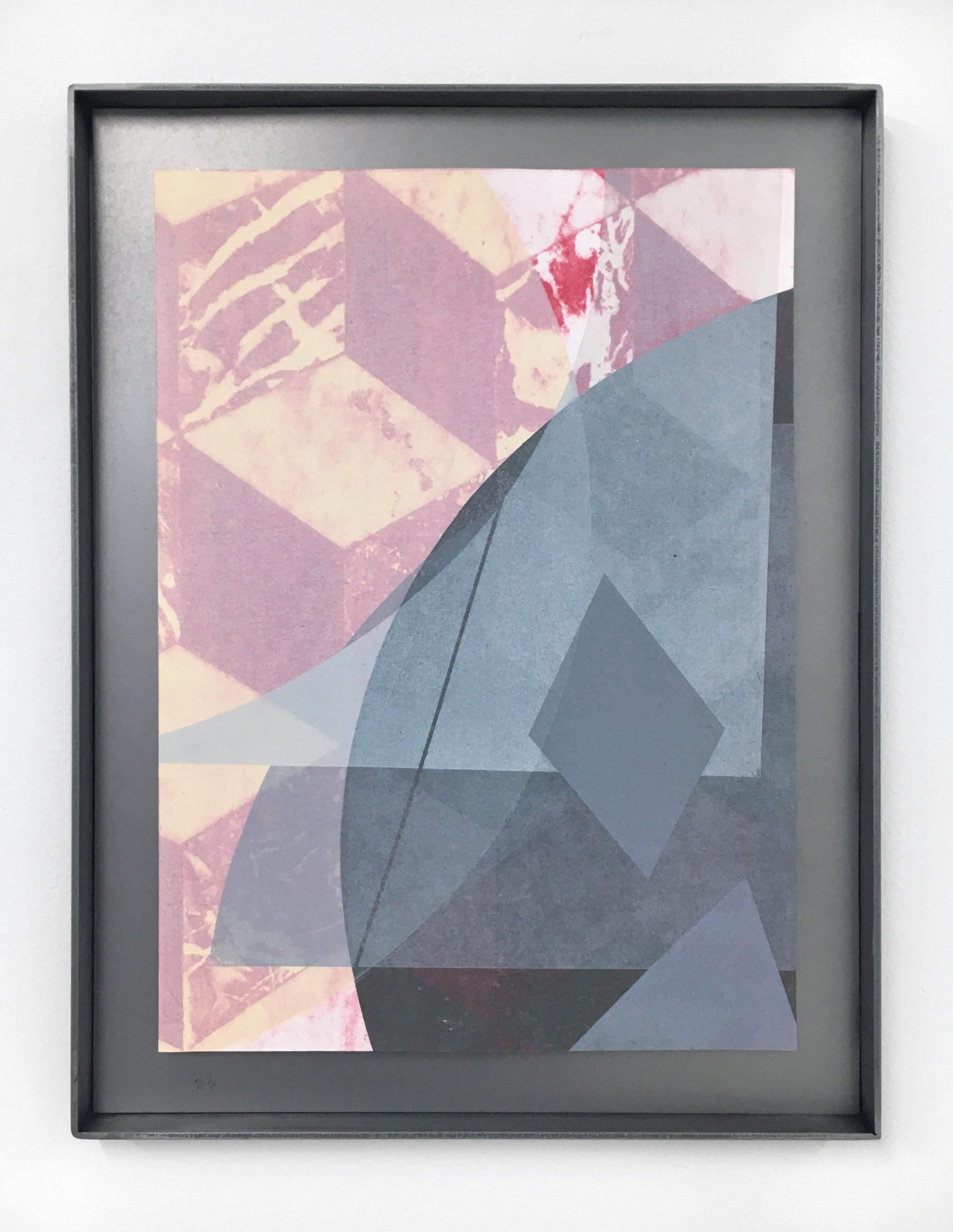 A metal print made by Claudia Cortinez at LES Printshop.