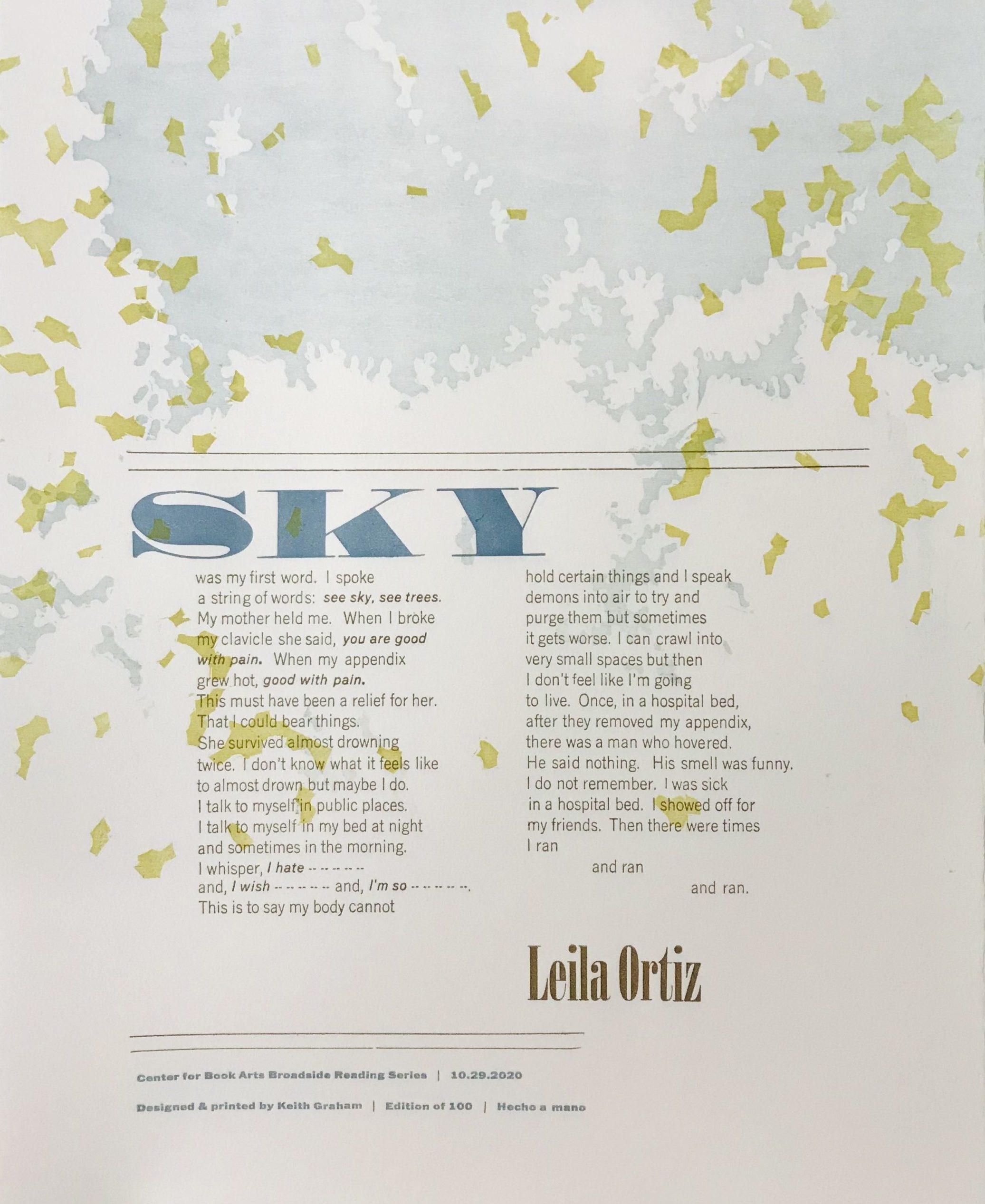 Sky by Leila Ortiz