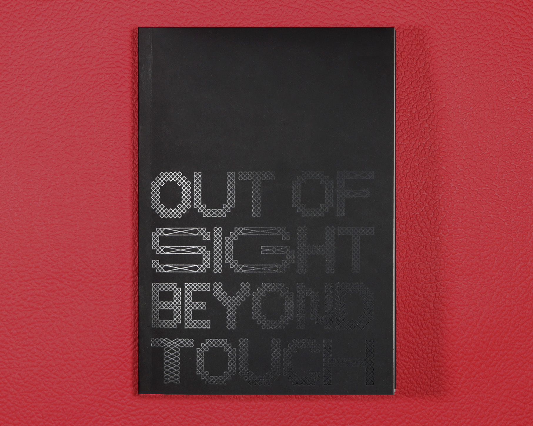 black book cover with black text in english