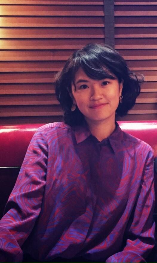 Chia-Lun Chang in a purple shirt
