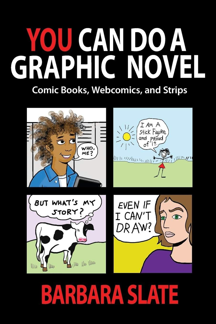 book cover with fun comics on it