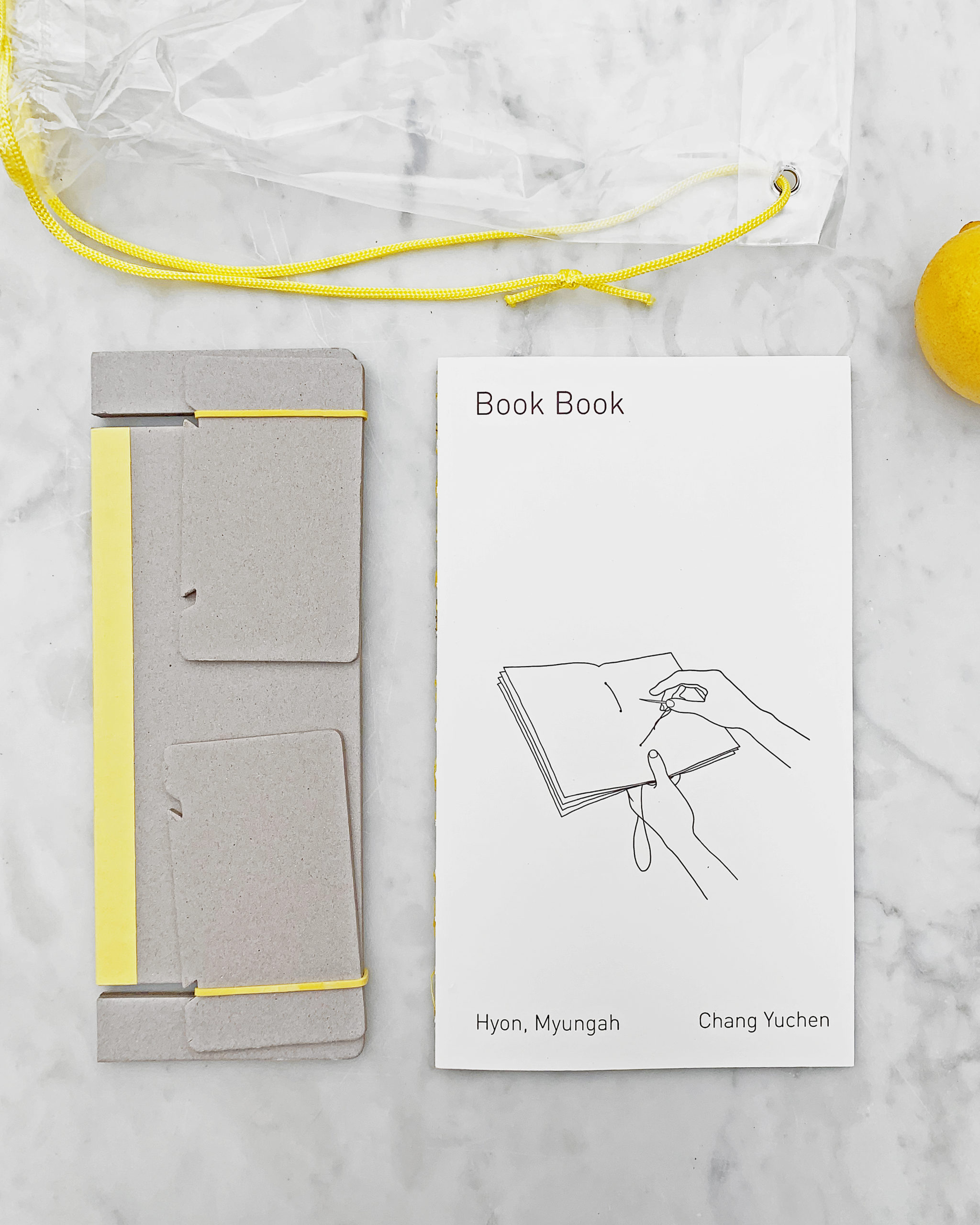 hole punching cradle and book
