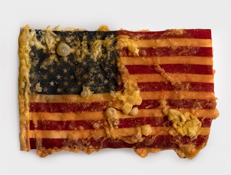 deep fried american flag