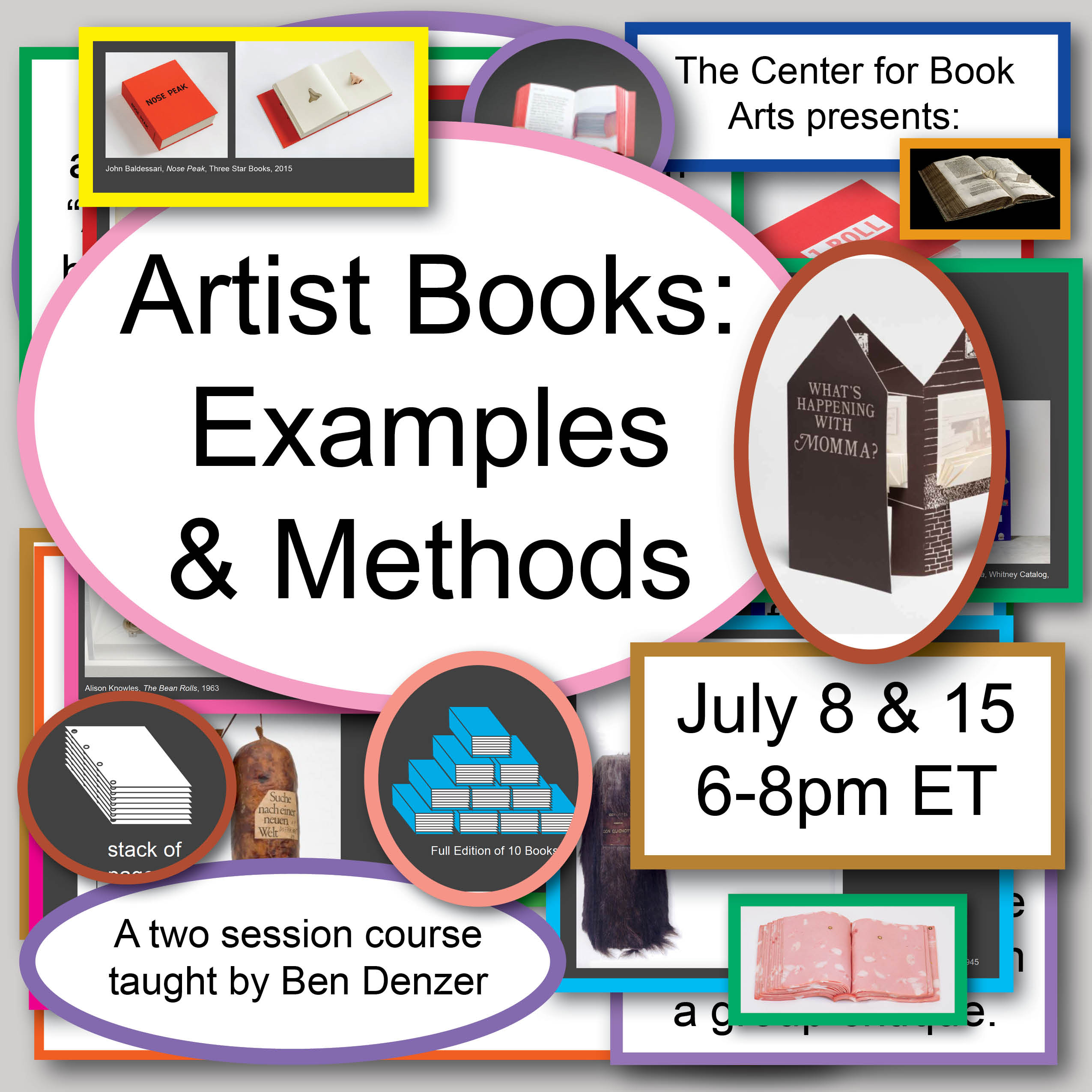 Artist Books: Examples and Methods graphic
