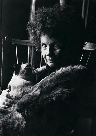 Black and white photo of Stella Waitzkin for bio page