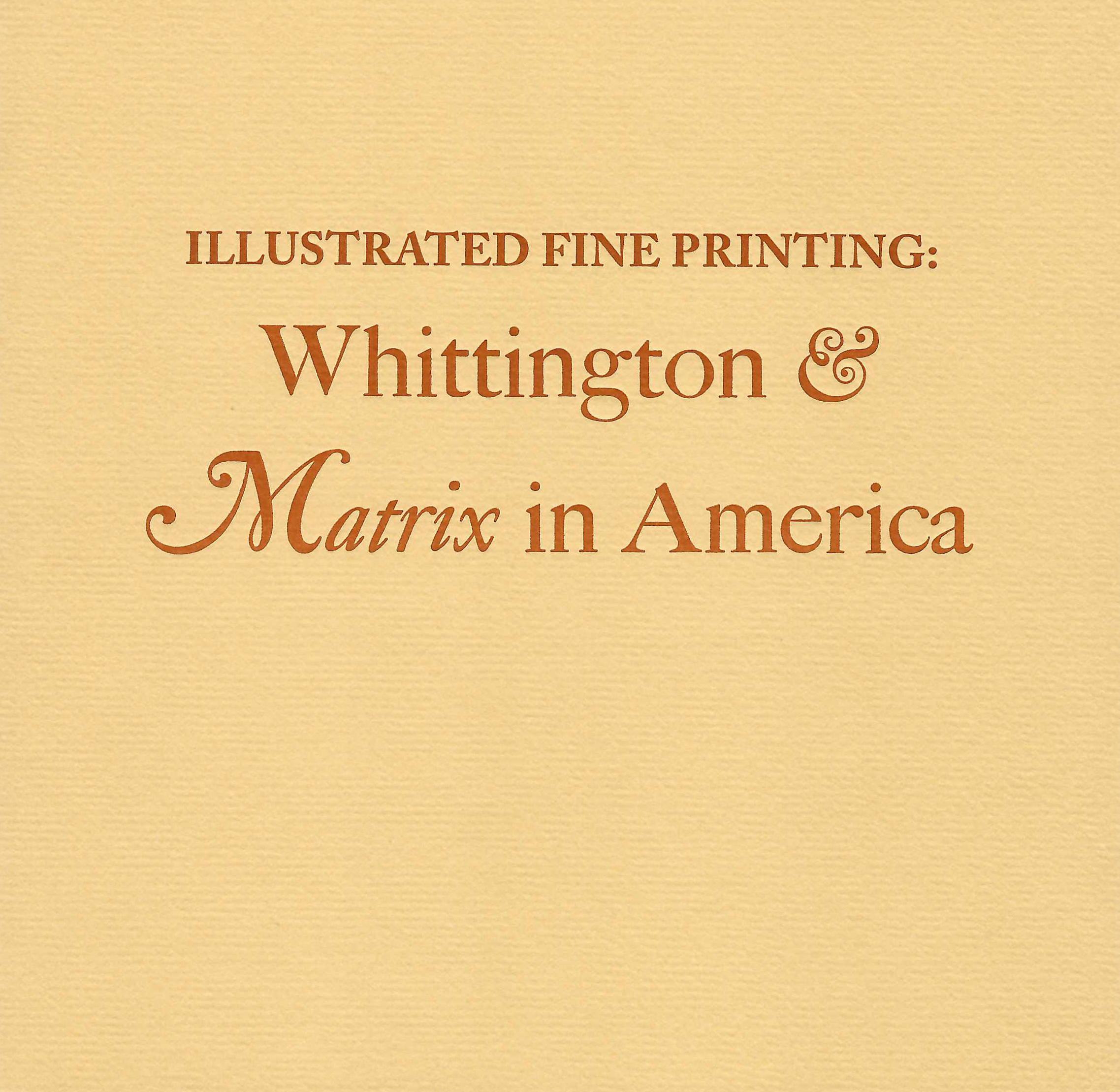 tan book cover with letterpress printed title in center